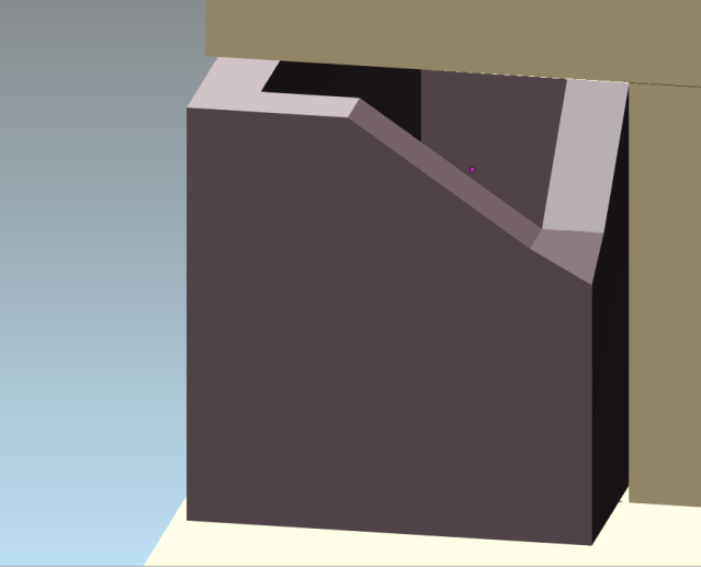 sarcophage ecorné